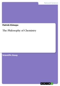 Title: The Philosophy of Chemistry
