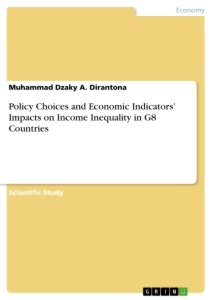 Title: Policy Choices and Economic Indicators' Impacts on Income Inequality in G8 Countries