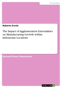 Title: The Impact of Agglomeration Externalities on Manufacturing Growth within Indonesian Locations