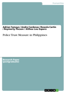 Title: Police Trust Measure in Philippines