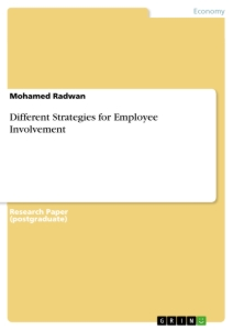 Title: Different Strategies for Employee Involvement