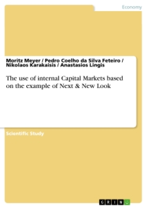 Title: The use of internal Capital Markets based on the example of Next & New Look