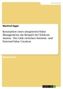 Title: Konzeption eines integrierten Value Managements am Beispiel der Telekom Austria - Der Link zwischen Intrinsic- und External Value Creation
