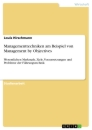 Title: Managementtechniken am Beispiel von Management by Objectives