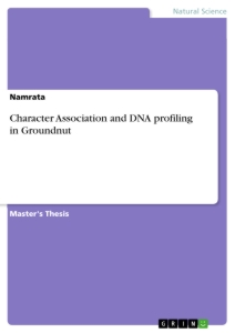 Title: Character Association and DNA profiling in Groundnut