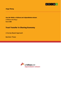 Title: Trust Transfer in Sharing Economy