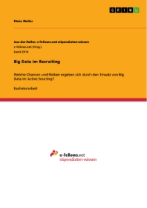 Title: Big Data im Recruiting