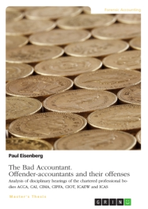 Title: The Bad Accountant. Offender-accountants and their offenses
