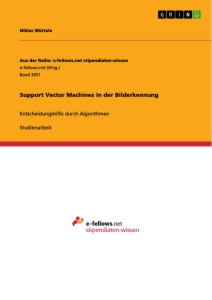 Title: Support Vector Machines in der Bilderkennung