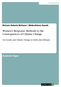 Title: Women's Response Methods to the Consequences of Climate Change