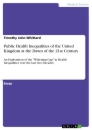 Title: Public Health Inequalities of the United Kingdom at the Dawn of the 21st Century