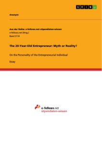 Title: The 20-Year-Old Entrepreneur: Myth or Reality?