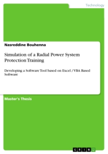 Title: Simulation of a Radial Power System Protection Training