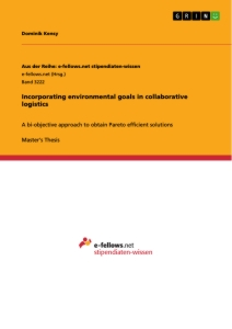 Title: Incorporating environmental goals in collaborative logistics