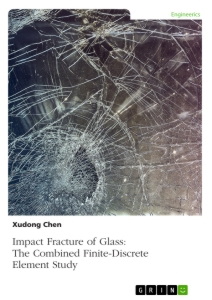 Titel: Impact Fracture of Glass. The Combined Finite-Discrete Element Study