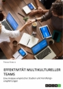 Title: Effektivität multikultureller Teams