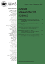 Title: Junior Management Science, Volume 3, Issue 3, September 2018