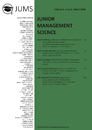 Title: Junior Management Science, Volume 5, Issue 1, March 2020
