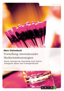 Titel: Vorstellung internationaler Markteintrittsstrategien