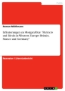 "Title: Erläuterungen zu Morgan/Bray ""Partners and Rivals in Western Europe: Britain, France and Germany"""