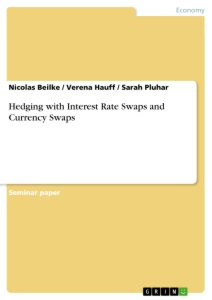 Titel: Hedging with Interest Rate Swaps and Currency Swaps
