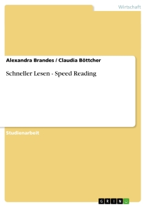 Title: Schneller Lesen - Speed Reading