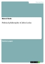 Titel: Political philosophy of John Locke
