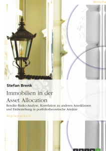 Titel: Immobilien in der Asset Allocation