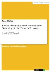 Title: Role of Information and Communication Technology in the Farmer's Economy