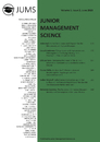 Title: Junior Management Science, Volume 5, Issue 2, June 2020