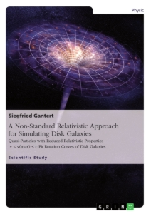 Title: A Non-Standard Relativistic Approach for Simulating Disk Galaxies