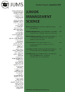 Title: Junior Management Science, Volume 5, Issue 3, September 2020