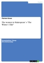"Titel: The women in Shakespeare`s ""The Winter`s Tale"""