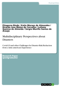 Title: Multidisciplinary Perspectives about Disasters