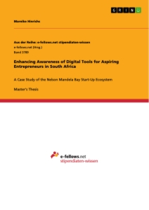 Titel: Enhancing Awareness of Digital Tools for Aspiring Entrepreneurs in South Africa