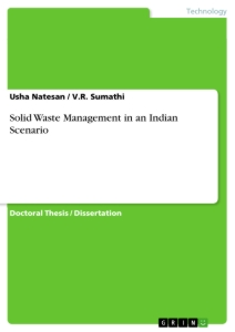 Title: Solid Waste Management in an Indian Scenario