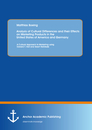 Title: Analysis of Cultural Differences and their Effects on Marketing Products in the United States of America and Germany: A Cultural Approach to Marketing using Edward T. Hall and Geert Hofstede
