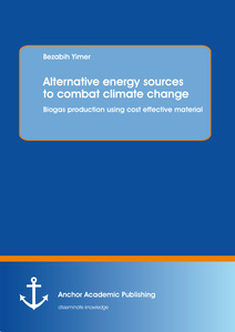Title: Alternative energy sources to combat climate change: Biogas production using cost effective material