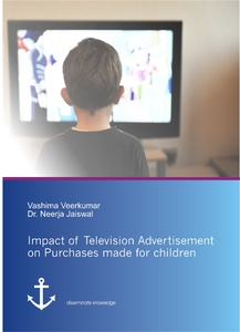 Title: Impact of Television Advertisement on Purchases made for children