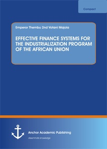 Title: EFFECTIVE FINANCE SYSTEMS FOR THE INDUSTRIALIZATION PROGRAM OF THE AFRICAN UNION