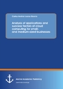 Title: Analysis of applications and success factors of cloud computing for small- and medium-sized businesses