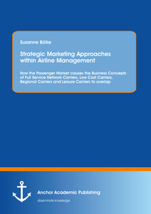 Title: Strategic Marketing Approaches within Airline Management: How the Passenger Market causes the Business Concepts of Full Service Network Carriers, Low Cost Carriers, Regional Carriers and Leisure Carriers to overlap