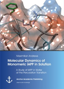 Title: Molecular Dynamics of Monomeric IAPP in Solution: A Study of IAPP in Water at the Percolation Transition