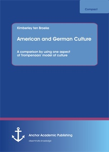 Title: American and German Culture. A comparison by using one aspect of Trompenaars' model of culture