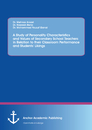 Title: A Study of Personality Characteristics and Values of Secondary School Teachers in Relation to their Classroom Performance and Students' Likings