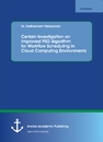 Title: Certain Investigation on Improved PSO Algorithm for Workflow Scheduling in Cloud Computing Environments