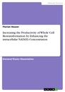 Titel: Increasing the Productivity of Whole Cell Biotransformation by Enhancing the intracellular NAD(H) Concentration