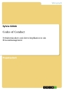 Titel: Codes of Conduct