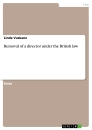 Titel: Removal of a director under the British law