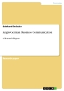 Titel: Anglo-German Business Communication